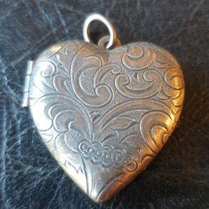 Jewelry - Locket Vintage Sterling